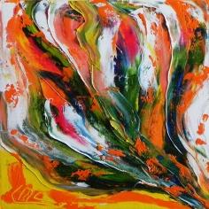 Huile sur toile - 10x10 - 2013 - ©Marie-Laure Leymonie