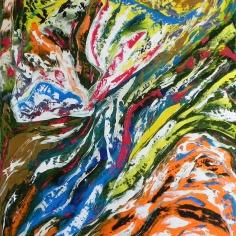 Conscience - Huile sur toile - 20x24 - MLLeymonie - 2014