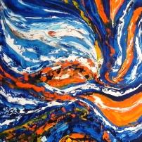 Ressourcement - Huile sur toile - 16x24 - MLLeymonie - 2014