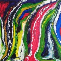 Esprit libre - Huile sur toile - 18x24 - MLLeymonie - 2014
